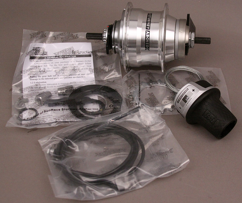 Sturmey Archer 5 Speed Coaster Brake Hub 36H RX-RC5