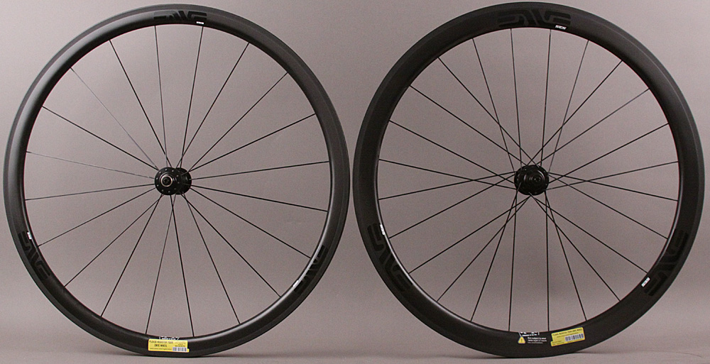 Enve SES 3.4 Carbon Tubular Road Bike Wheelset Enve Ceramic Hubs
