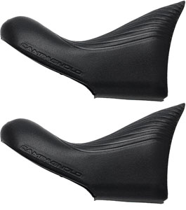 Campagnolo Ultra-Shift Lever Hoods for 2009-2014, Black, Pair