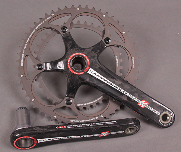 Campagnolo Super Record Ti Crankset TT Time Trial 172.5 42/55