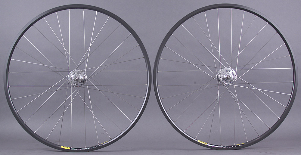 Mavic Open Pro CD Singlespeed Track Wheelset Paul Hubs