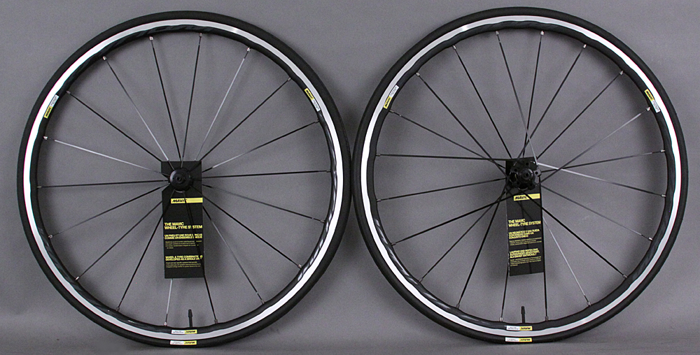 Mavic Ksyrium Elite C Clincher Road Bike Wheelset & Tires