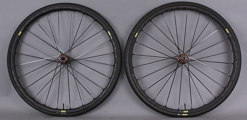 Mavic Ksyrium Elite Allroad Clincher Road Bike Wheelset & Tires