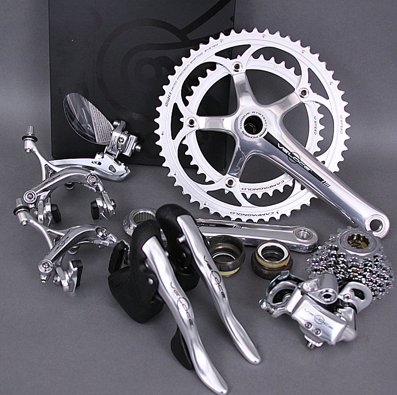 Campagnolo Veloce 10 Speed Silver Alloy 9 pc Group