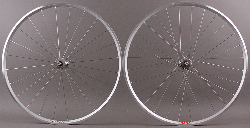Velocity A23 Phil Wood Hubs Track Bike Fixed Gear Wheelset 24/28