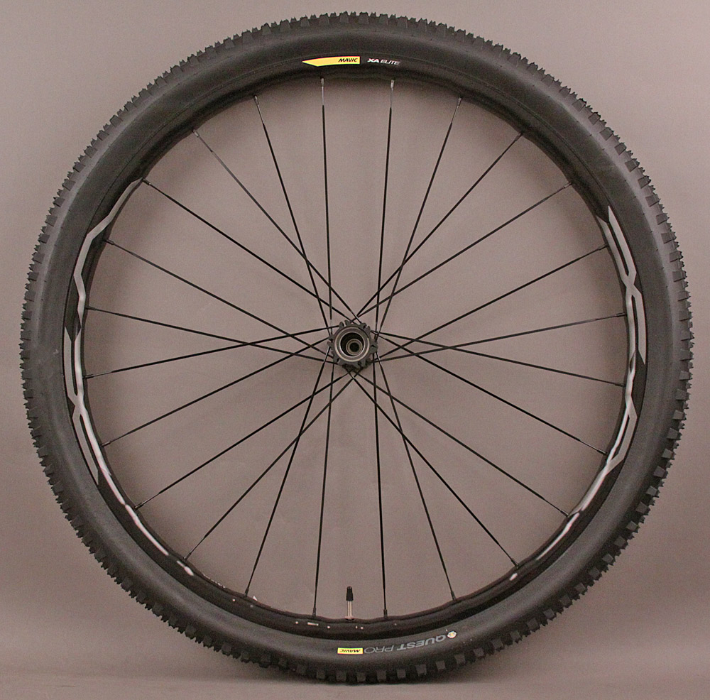 "Mavic XA Elite 29er 29"" LEFTY Front Mountain Bike Wheel and Tire"