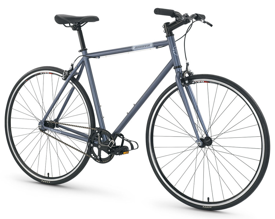 56cm Torker U District Commuter Bicycle Single Speed Dusty Blue