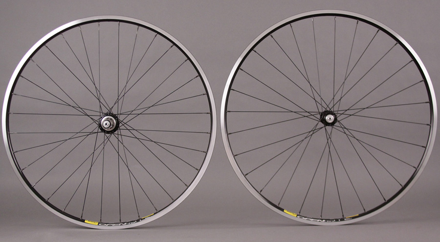 White Industries 28h & 32h T11 Hubs Mavic Open Pro Rims Wheels