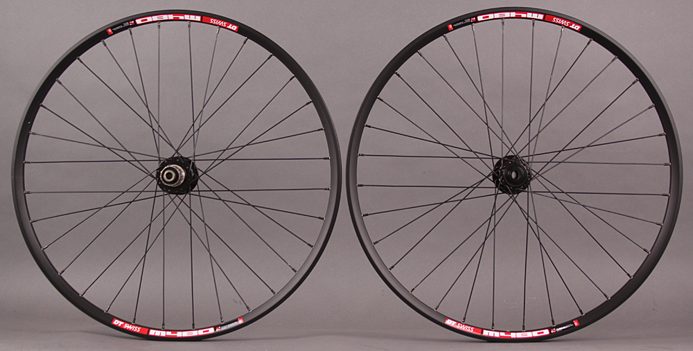 DT Swiss M480 26 MTB Wheelset Novatec 4 in 1 Hubs QR & Thru Axle