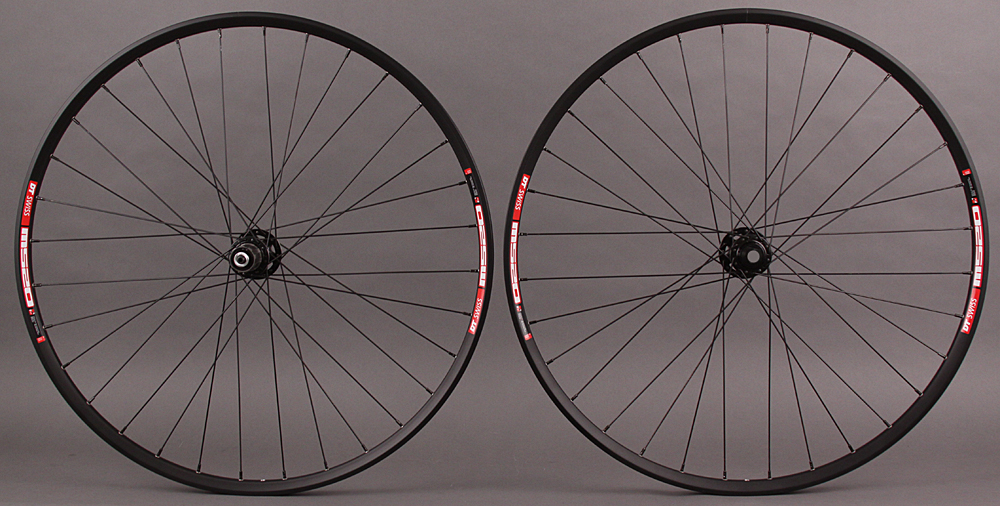 DT 29er MTB Wheelset M520 Rim SRAM X9 15mm Thru Front - QR Rear