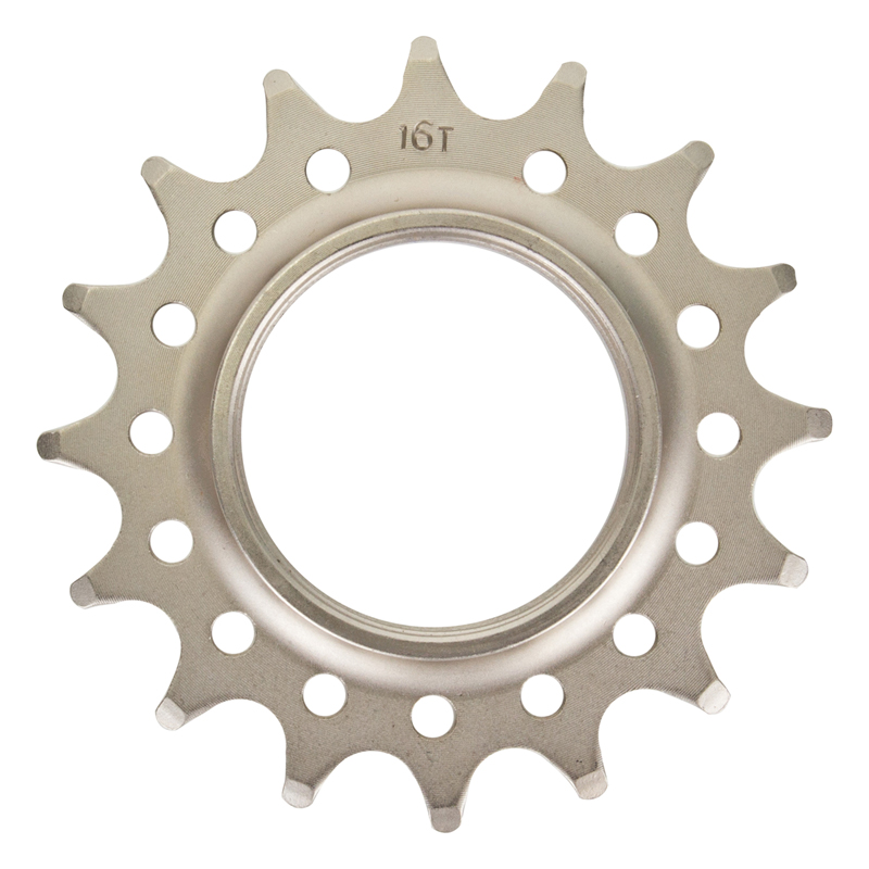 Track Cog Drilled 16t x 3/32 Hardened Steel