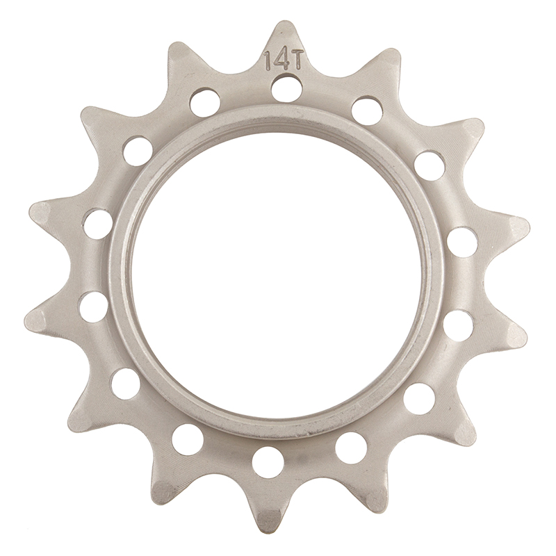 Track Cog Drilled 14t x 3/32 Hardened Steel
