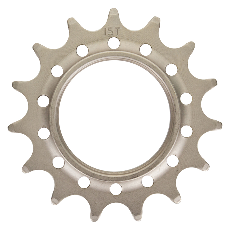 Track Cog Drilled 15t x 1/8 Hardened Steel