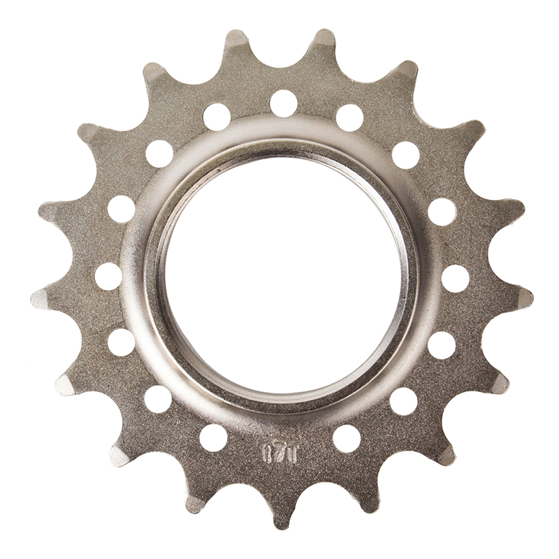 Track Cog Drilled 17t x 1/8 Hardened Steel