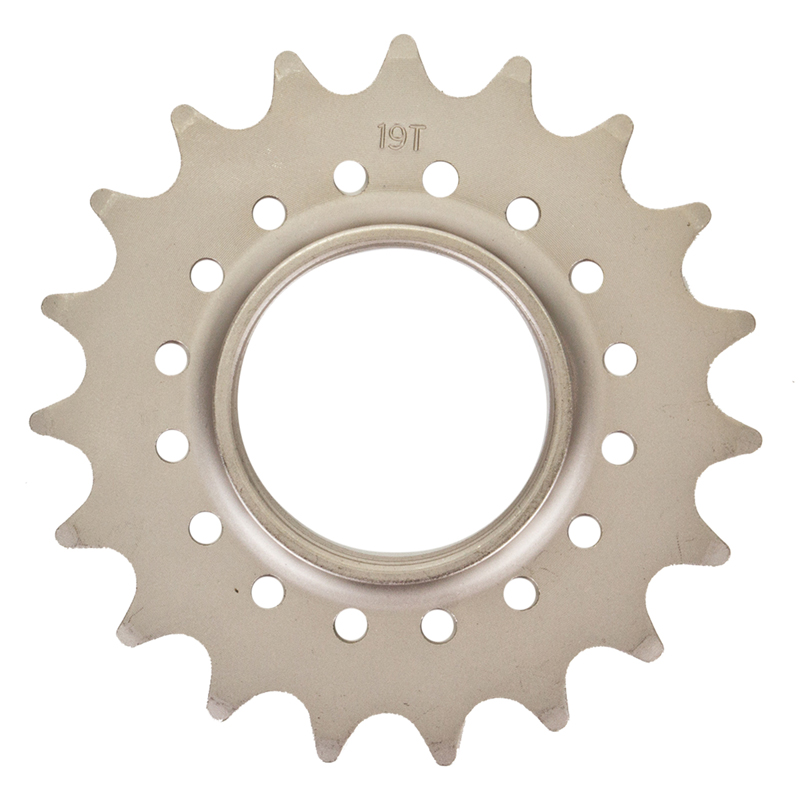 Track Cog Drilled 19t x 3/32 Hardened Steel
