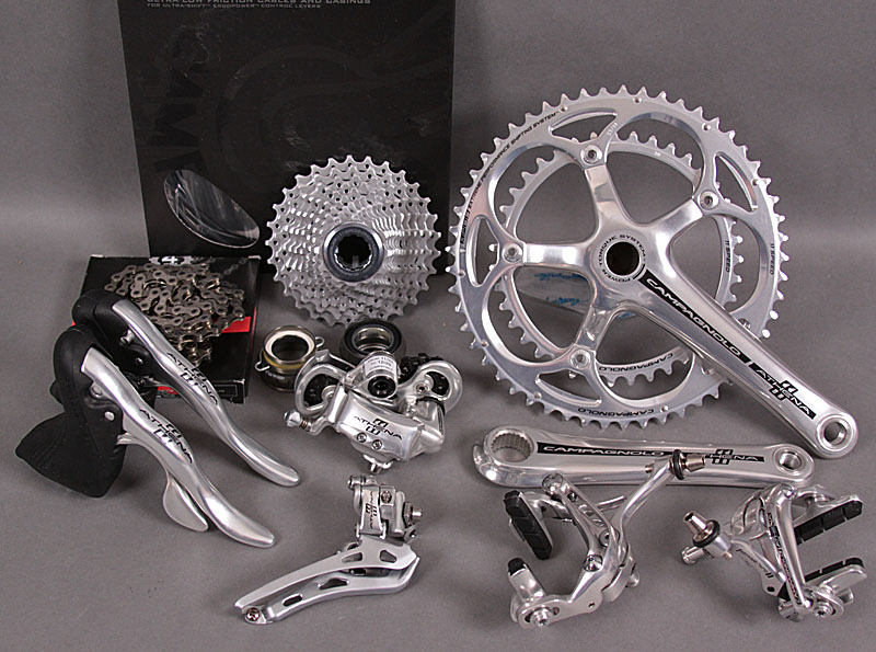 2012 Campagnolo Athena 11 Speed 9 Piece Group Alloy