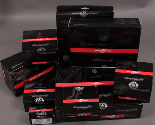 2012 Campagnolo Record 11 Speed 8 piece Group