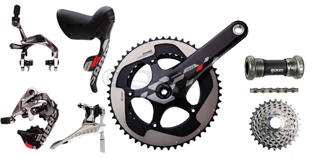 2012 SRAM RED 8 PIECE GROUP SET CERAMIC BB