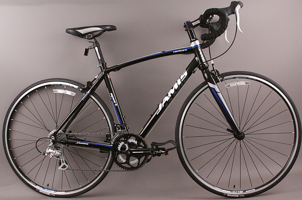 Jamis Ventura Sport Road Bike Shimano 8 Speed 48cm Gloss Black