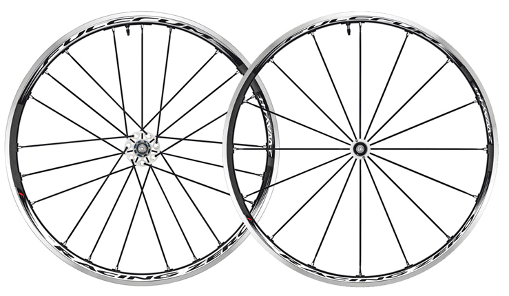 2013 Fulcrum Racing 0 Zero 2 Way Fit Wheelset Campy Black White