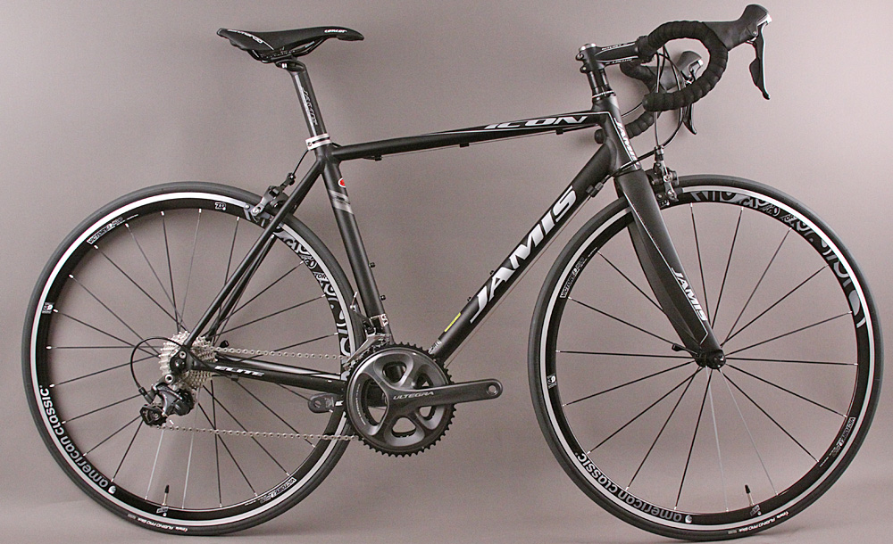 Jamis Icon Elite Road Bike Ultegra 11 Speed 51cm Anodized Black