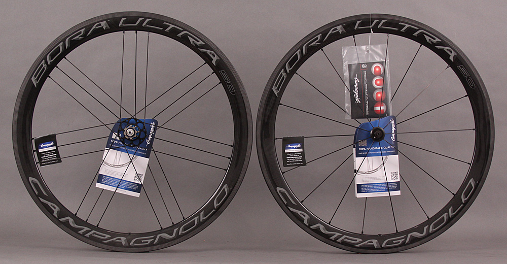 2018 Campagnolo Bora Ultra 50 Carbon Clincher Wheelset Dark