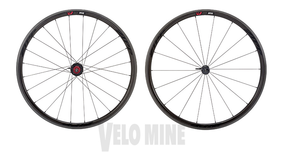 2014 Zipp 202 Black Firecrest Carbon Clincher Wheel 1380g 11 S