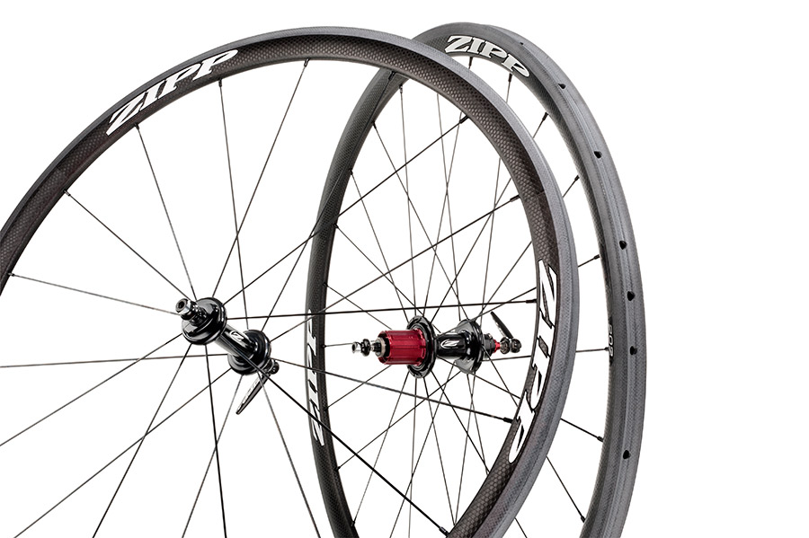 2013 Zipp 202 White Tubular Wheelset - 1115 g - 11 Speed Campy