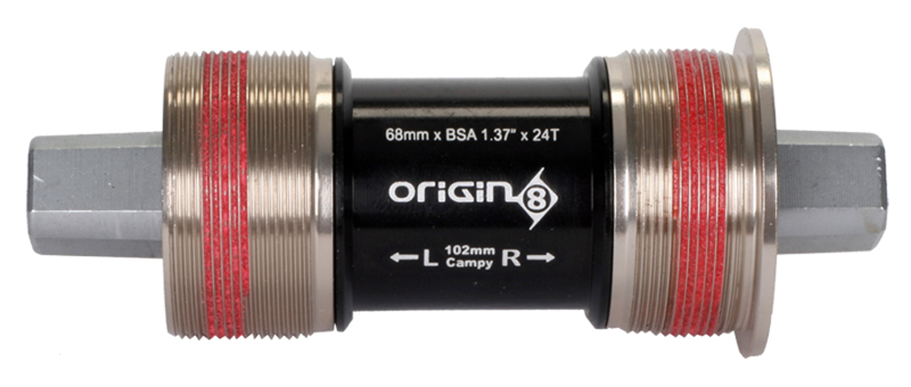 Origin8 Bottom Bracket Fits Track Pista Crankset 102mm English