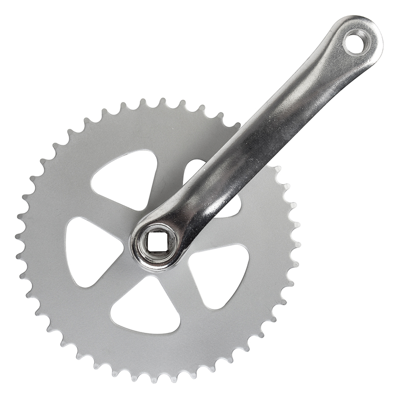 Sunlite Alloy Single Speed Track Bike Crankset 170x44 Silver