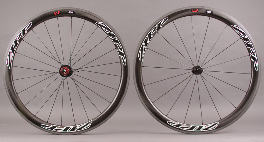 2013 Zipp 303 Black Tubular Wheel 1255g 11 Speed Campy