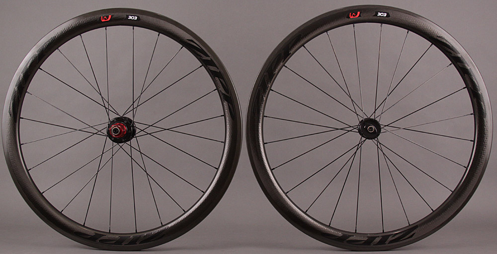 2015 Zipp 303 Black Firecrest Carbon Clincher Wheel 6 bolt Disc