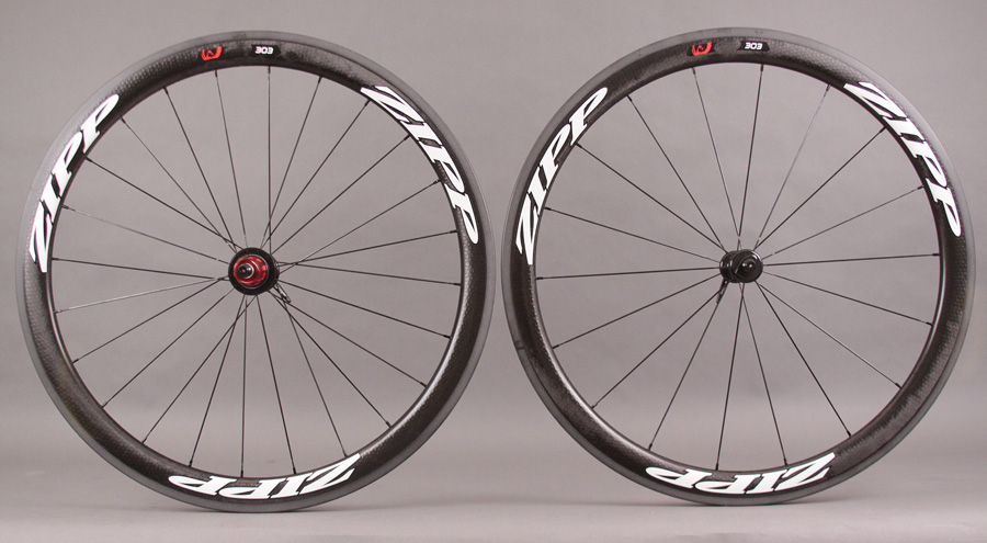2013 Zipp 303 White Tubular Wheel 1255g 11 Speed Campy