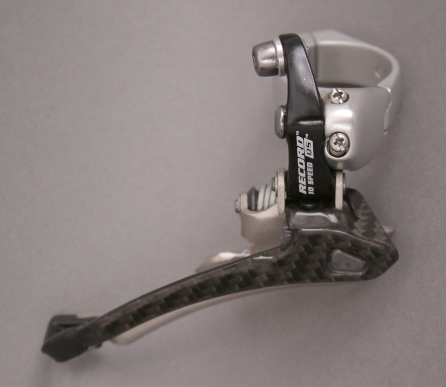 2008 Campagnolo Record QS 10 speed front derailleur 35mm