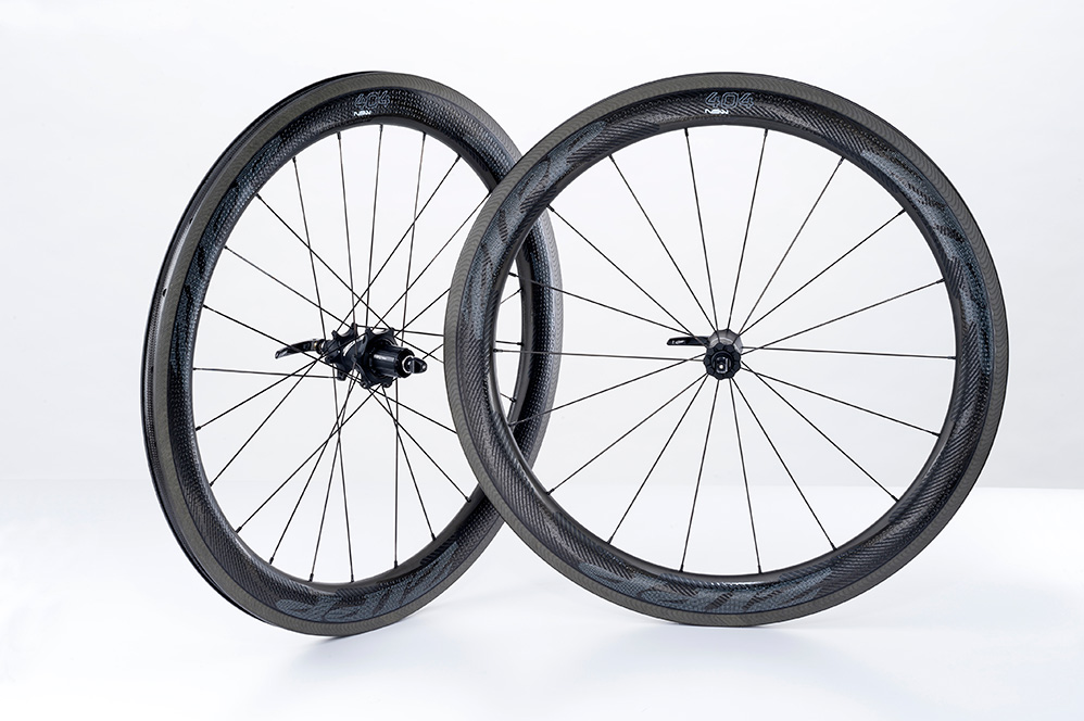 2019 Zipp 404 NSW Carbon Clincher Road Bike Wheelset 1555g