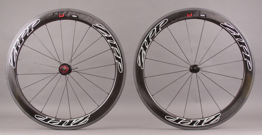 2013 Zipp 404 Black Tubular Wheel 1355g 11 Speed Campy