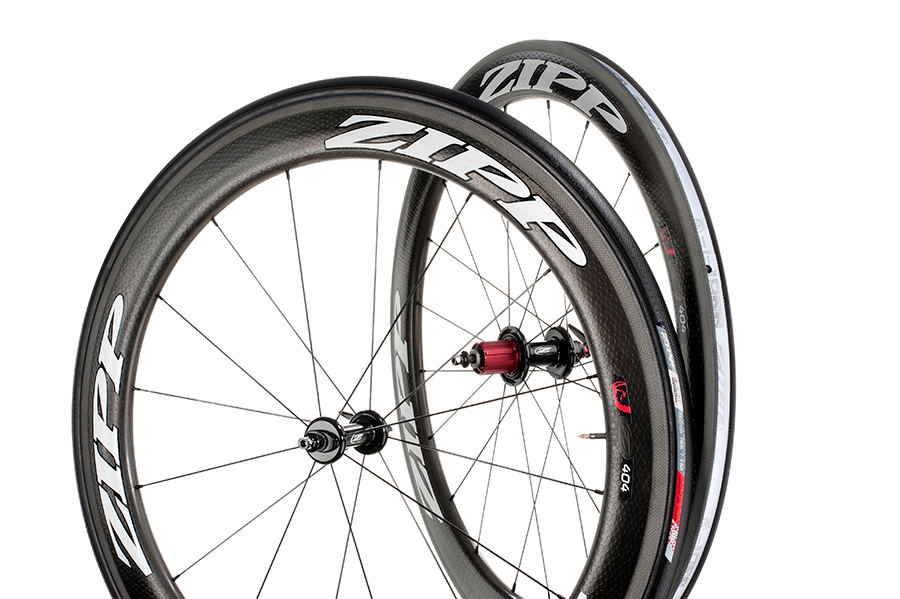 2013 Zipp 404 White Carbon Clincher Wheel 1525g 11 Speed Campy