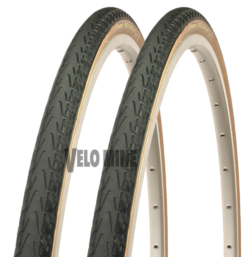 New Pair Panaracer Pasela gum wall 700 x 23 tires WIRE BEAD