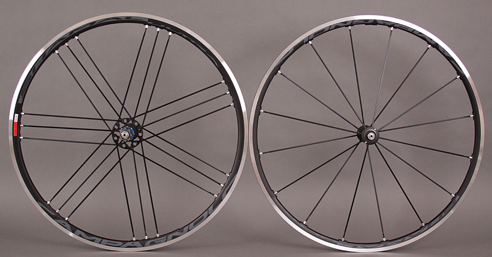 Campagnolo Shamal Ultra Clincher Wheelset Dark Label 9 10 11s