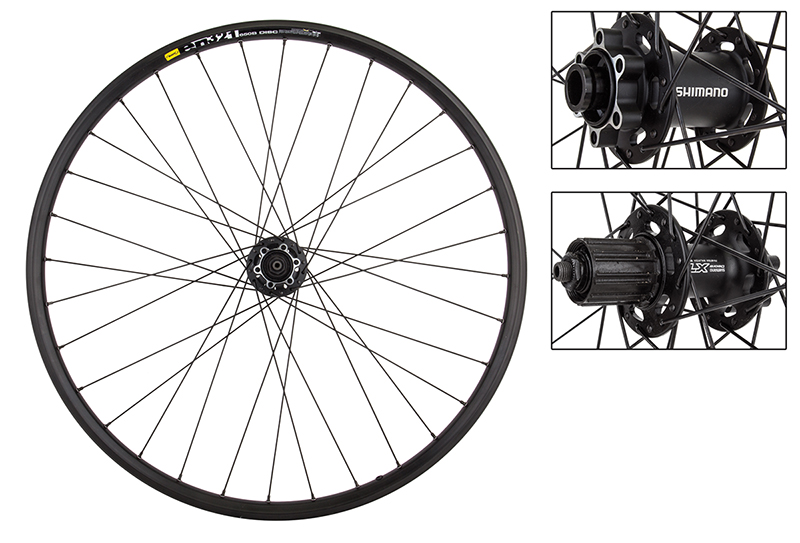 Mavic EN321 Rims 27.5 650b Mountain bike Wheelset Shimano 6 Bolt