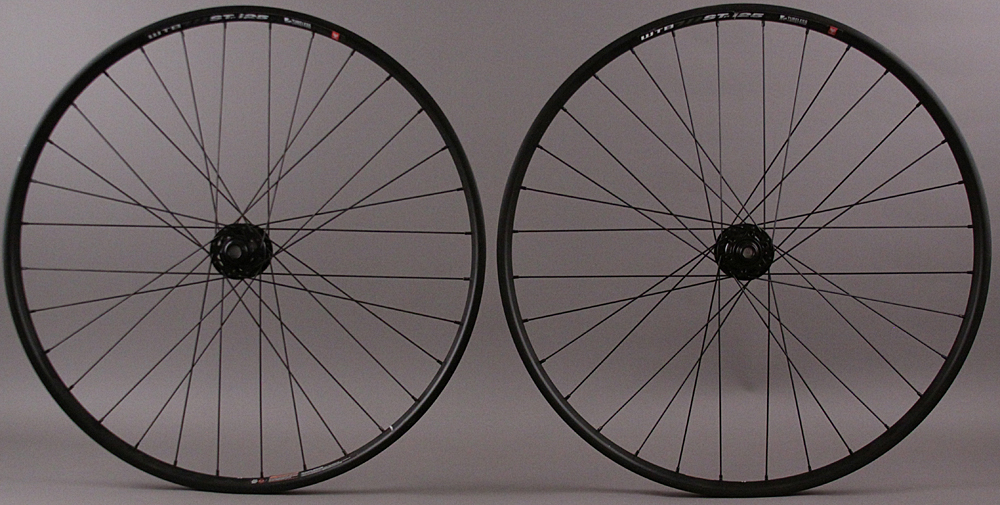 WTB STP TCS i25 650B 27.5 Wheels SRAM X9 15mm FT 12mm Rear
