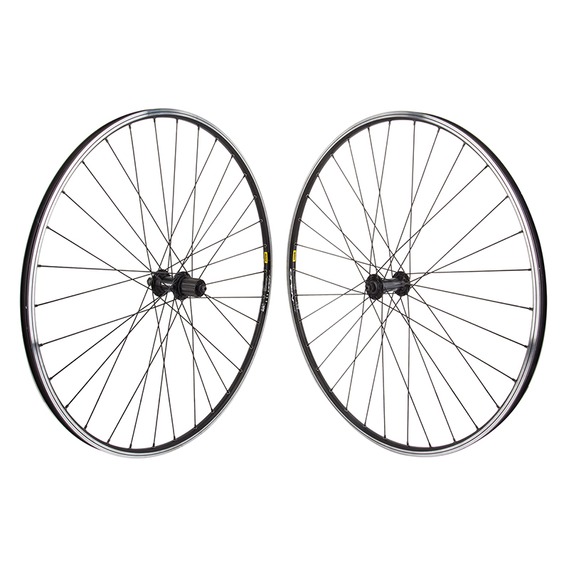 Mavic Open Elite Black Rims Road Bike Wheelset 8 9 10 11 speed