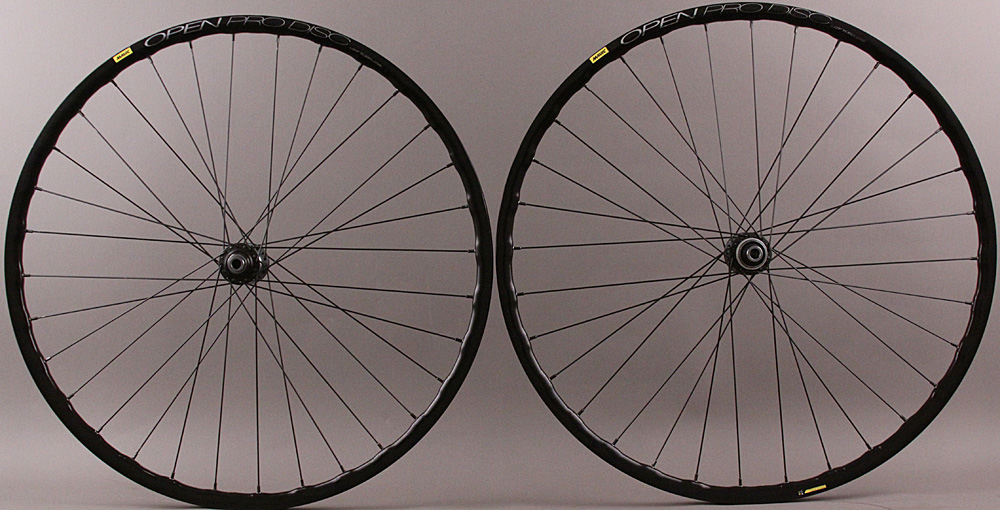 Mavic Open Pro UST 11sp Gravel QR Wheels Shimano CL Disc