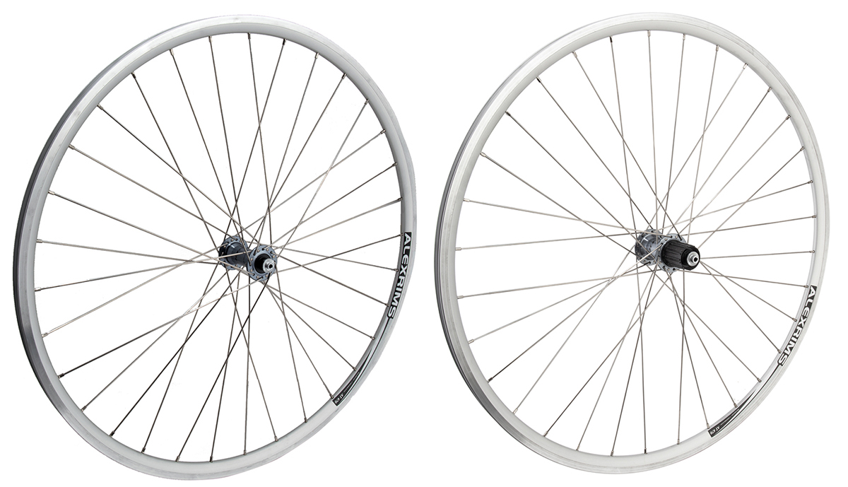 Alex AT470 Silver Rims Shimano 105 7000 8/9/10/11 Speed Wheelset