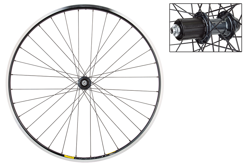 Mavic Open Pro Black Shimano Ultegra 6800 Hub Rear Wheel