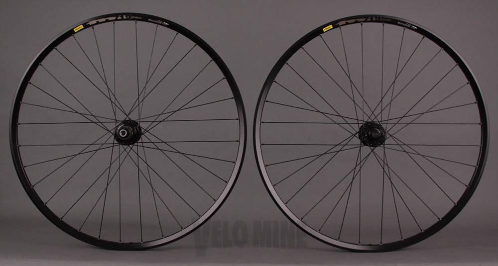 Mavic TN719 29er Sram 6 Bolt Disc Wheelset 15mm 12mm Thru Axle