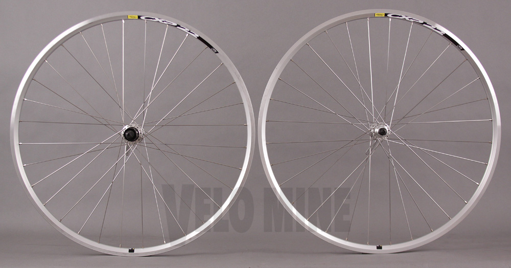 Mavic CXP Elite Shimano 2400 Hubs Silver Road Bike Wheels 32h