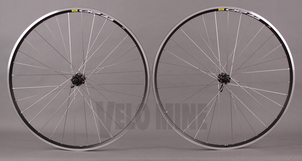 Mavic CXP22 Shimano 2400 Hubs Black Road Bike Wheels 32h
