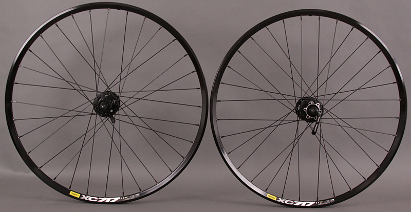 Mavic XC717 SSC Shimano XT Disc Wheelset Black 6 bolt DT Comp