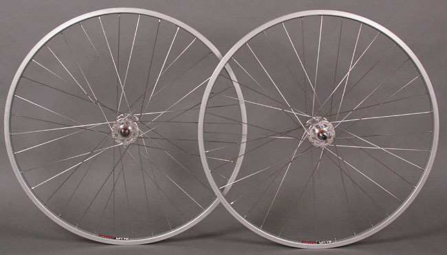 "Sun M13 II 27"" 27 inch FIXED GEAR wheelset Formula hubs"